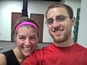 gym with Luke